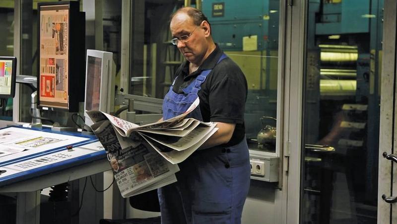 L'avenir de la presse au cœur des liens de la semaine (Capture du documentaire Presse :vers un monde sans papier ? Diffusé sur Arte