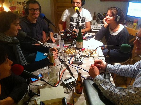 """L'Entrepod, une émission de radio """"comme à la maison""""."""