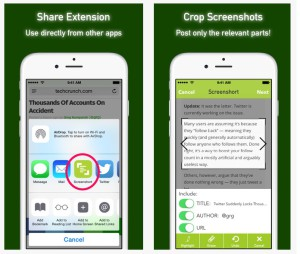 screenshort appli