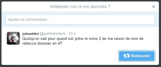 Commenter un tweet sur Twitter.com