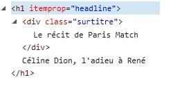 code titre