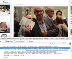 Le texte alternatif généré par Google est visible dans le code de la page.