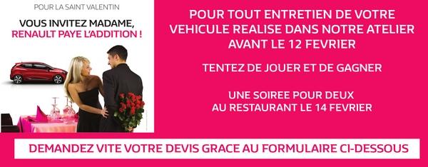 Saint Valentin Renault